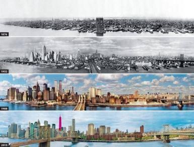 Évolution de Manhattan : concentration financière et densification urbaine