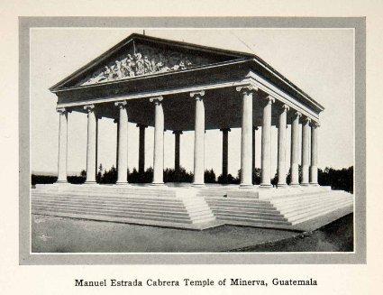 Cabrera - temple a minerve