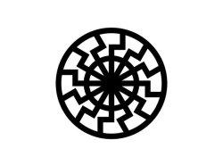 Figure de soleil noir découverte dans l'obergruppenführersaal du château du Wewelsburg