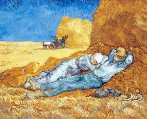 La Sieste de Vincent Van Gogh