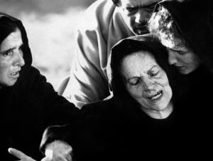 Susanna Pasolini incarne la Vierge Marie dans L'Évangile selon Saint Matthieu (1964)