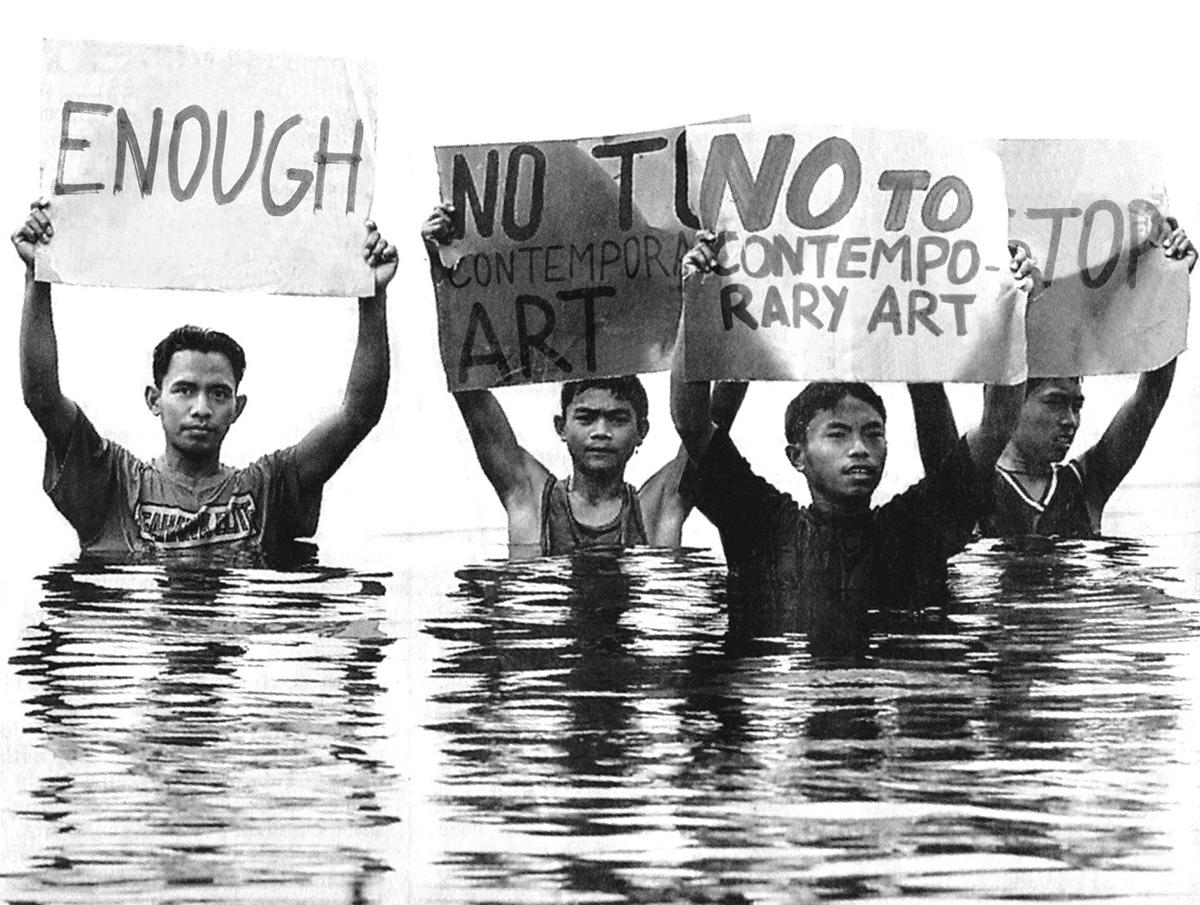 no to contemporary art