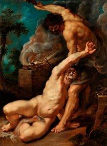 """Caïn tuant Abel"" par Rubens"