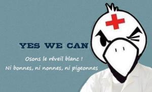 Une affiche du collectif Ni bonnes, ni nonnes, ni pigeonnes, actif depuis fin 2012