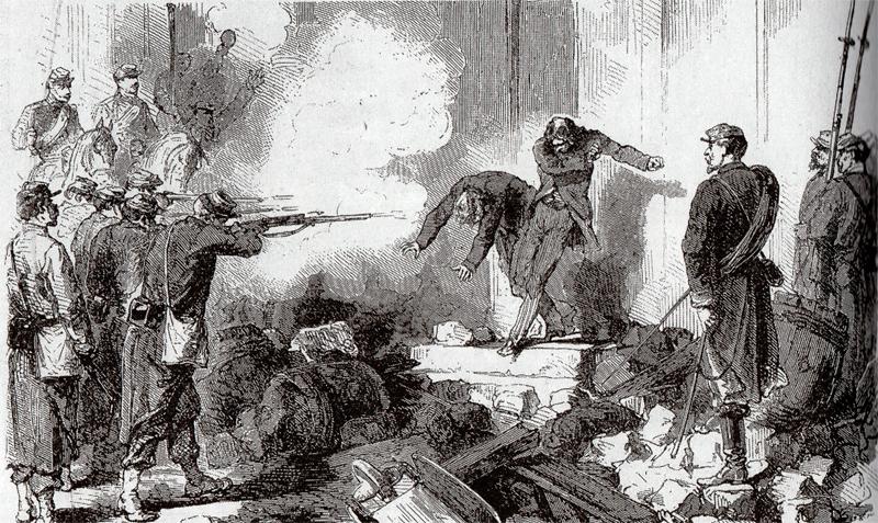 Excécution des communards