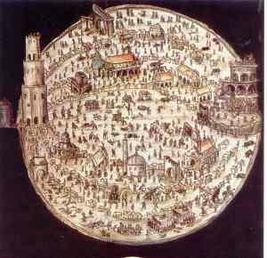 Cartographie du Le labyrinthe du monde et le paradis du cœur