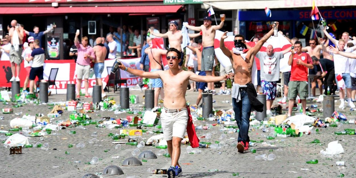 Hooligans anglais