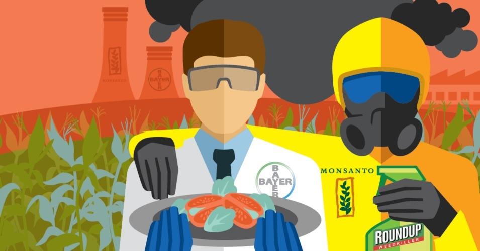 Monsanto, géant des OGM et de l'agro-chimie, a été racheté en septembre 2016, par Bayer, géant du secteur pharmaceutique et des pesticides