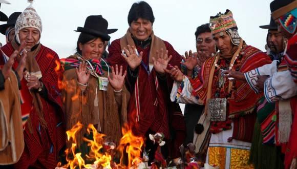 BOLIVIA-PACHAMAMA-OFRENDA