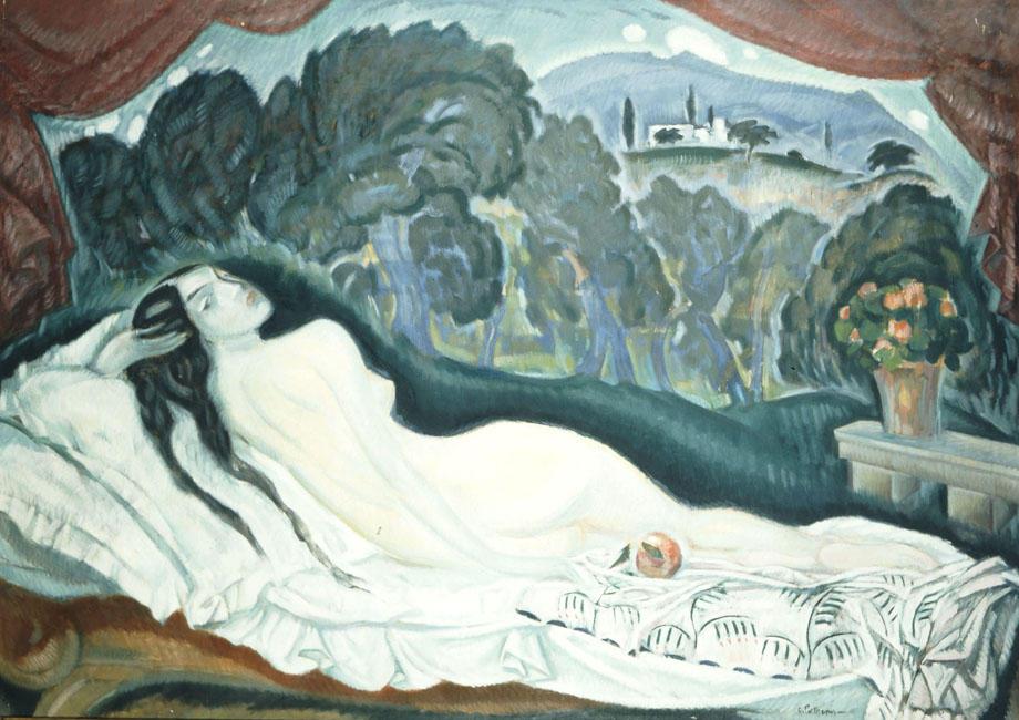 Konstantinos-Parthenis-Large-Nude