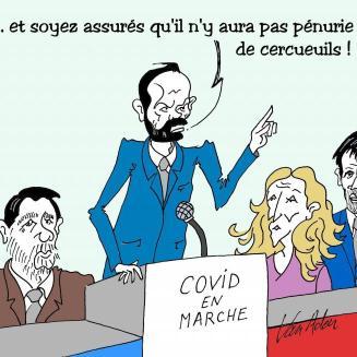 Le dessinateur et médecin Van Aderr croque le coronavirus